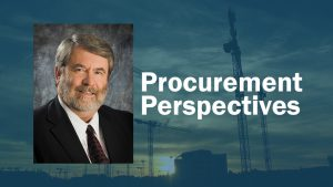 Procurement Perspectives: Contractors and owners should work together as one team