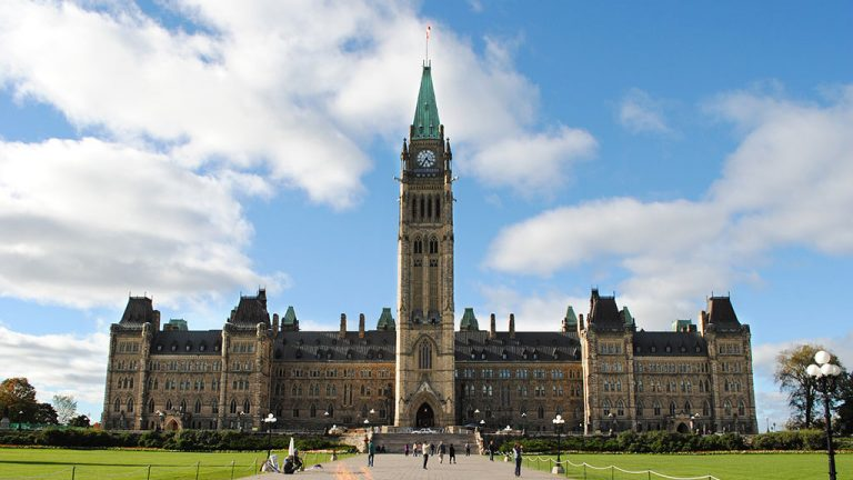 Blasting starts at Ottawa's Centre Block