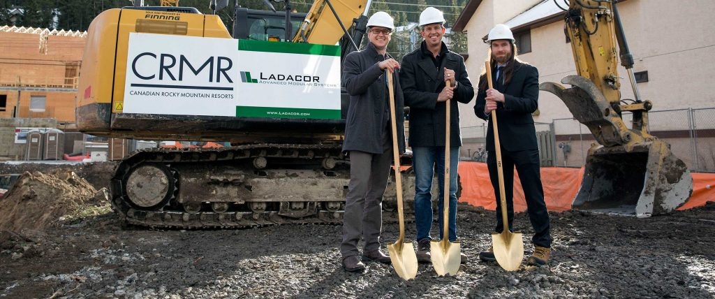 Ladacor breaks ground on Banff modular project