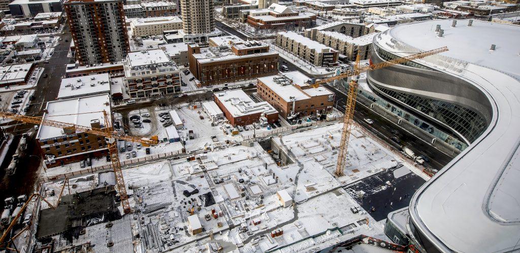 Tallest building in Western Canada takes shape in Edmonton