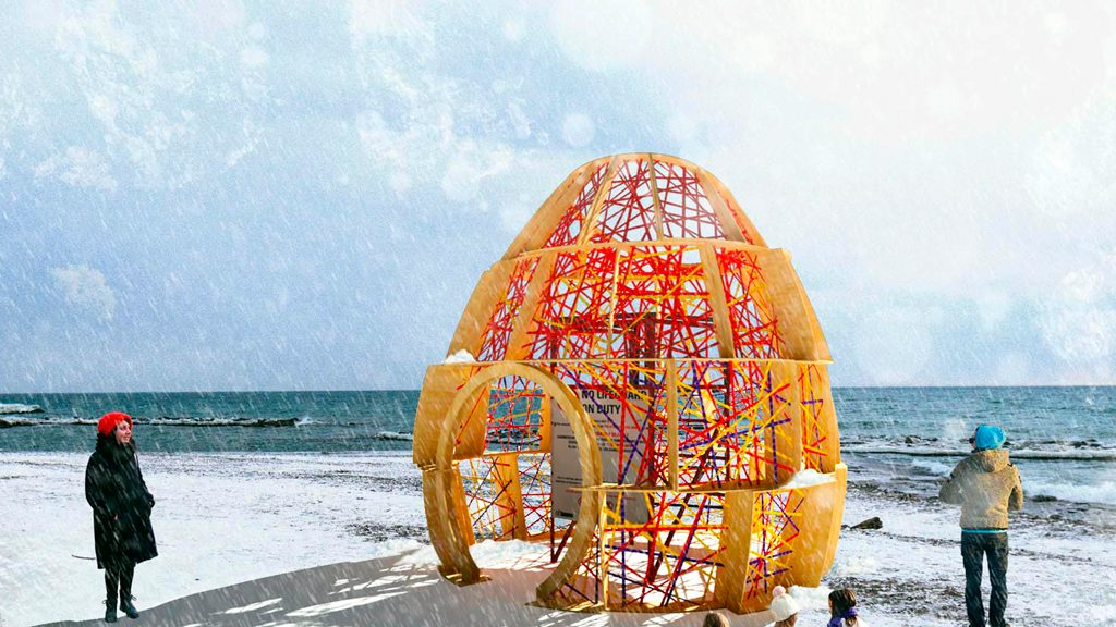 WinterStations design competition winners cause a RIOT