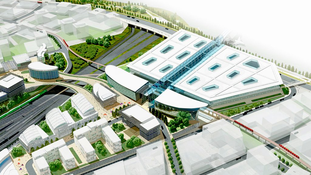 GTAA awards HOK planning contract for Toronto Pearson transit centre