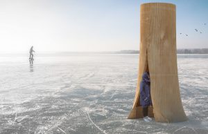 Winnipeg warming huts celebrate icy architecture
