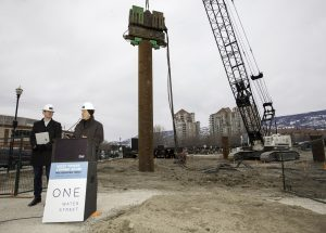 Kelowna's tallest residential tower begins construction