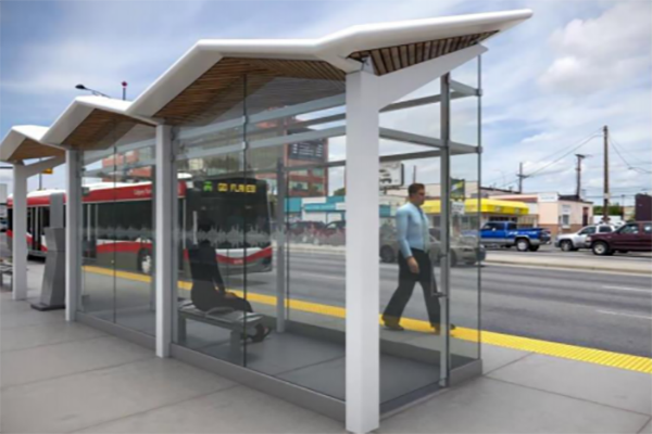 """The City of Saskatoon has announced its new rapid transit routes, including a new """"Green Line"""" to accommodate a split in a planned line to expand transit coverage. The plan also provides further details on how the new bus rapid transit system will function as well as identifying platform and station design options."""