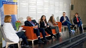 Panel addresses workplace wellness to engineering and architecture students