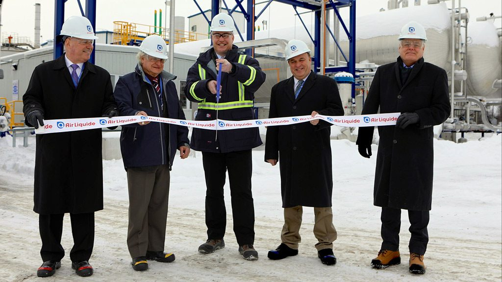 Air Liquide inaugurates CO2 recovery plant in eastern Ontario