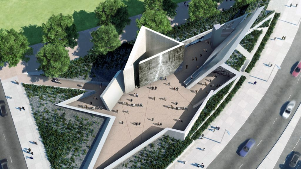Holocaust memorial, Daniels projects win NY Design awards