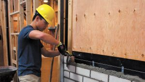 New bricklaying program trains workers in high-demand trade