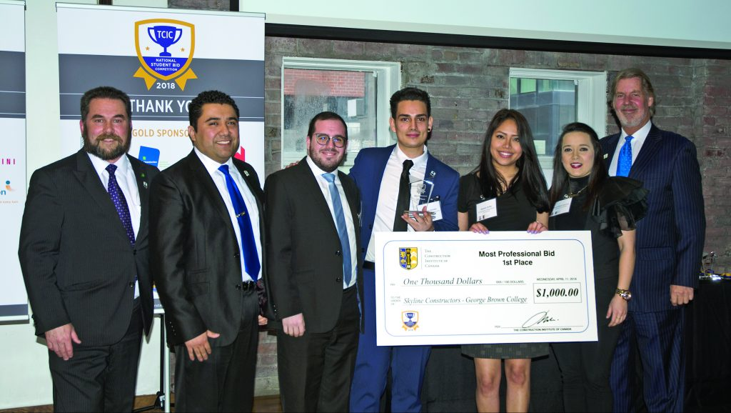 Students shine in challenging 2018 TCIC bid competition