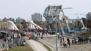 New Johnson Street Bridge opens in Victoria