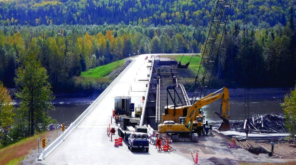 Fort Nelson bridge overcomes several hurdles