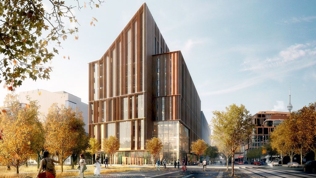 George Brown selects Moriyama/Acton design team for tall wood build
