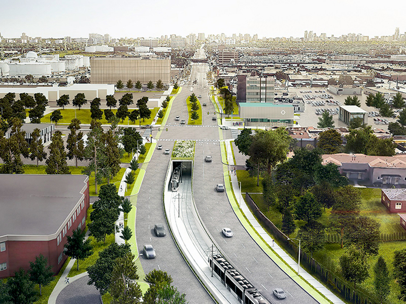 Infrastructure Ontario and Metrolinx recently announced Mosaic Transit Group has been awarded a $2.5-billion contract to design, build, finance and maintain the Finch West Light Rail Transit project.