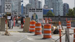 Cone Zone catches careless drivers cruising past construction