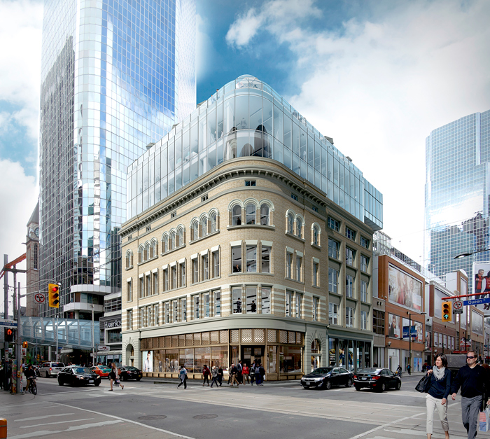 Cadillac Fairview To Revitalize Queen Street West Heritage