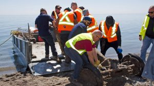 Shoreline cleanup no small task for partner organizations