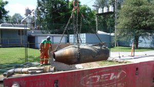Maple Ridge sets North American record for sewer pipe bursting technology