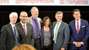 Candidates spar at Transport Futures debate