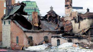 Voltigeurs de Quebec Armoury revived after massive fire