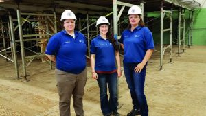 CCAT's female instructors hammer their way to leadership roles