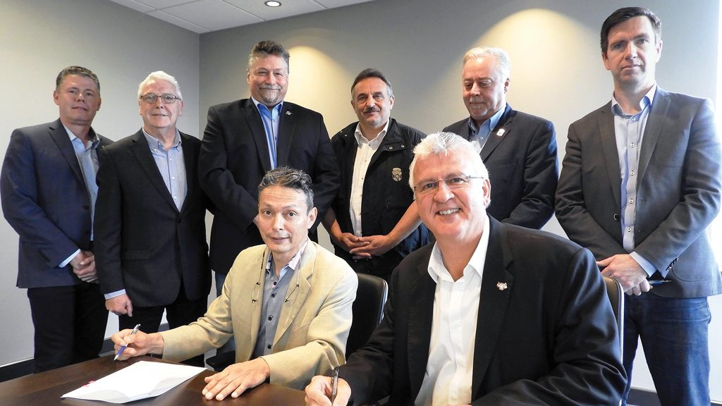 Canadian unions and Eagle Spirit Energy sign MOA for Indigenous-led pipeline