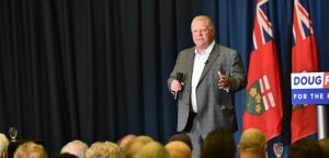 Doug Ford says the Liberals' carbon tax will plunge Canada into recession