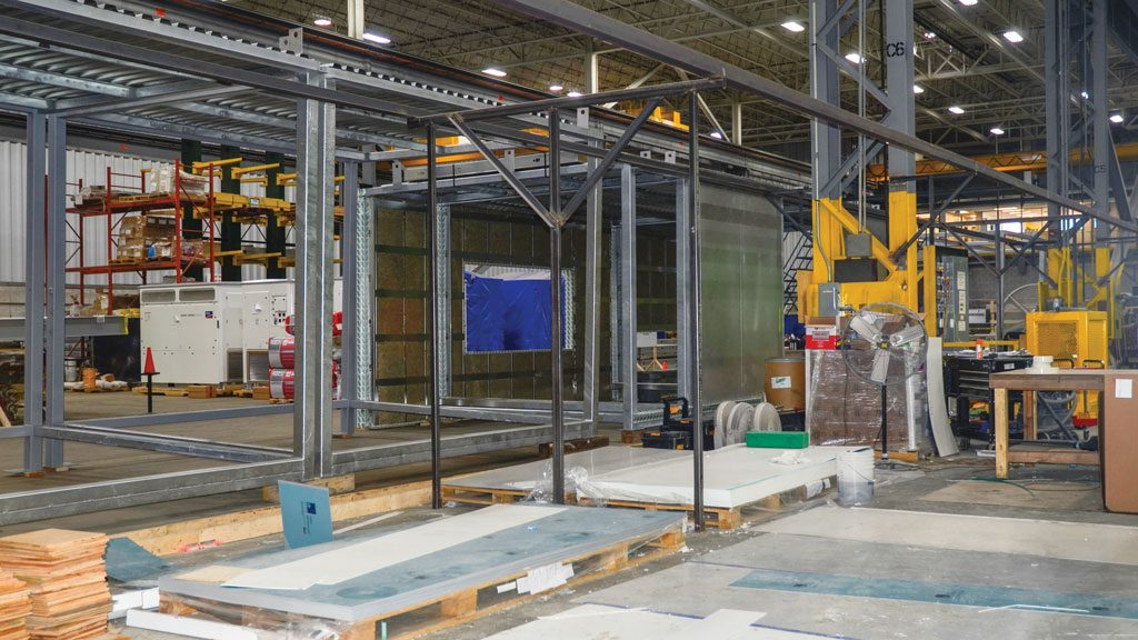 CIOB delegates shown the agility of PCL's modular construction facility