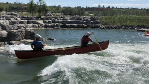 Calgary's reconstructed Harvie river passage reopens
