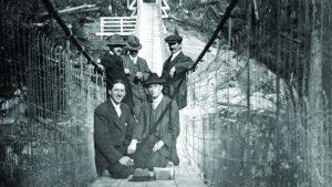New foundation system provides backup for Lynn Canyon bridge