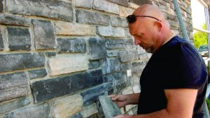 Thin stone craftsmanship at the core of Exteriors In Motion