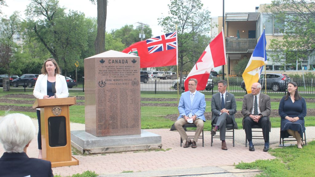 Ground broken on Royal Winnipeg Rifles memorial expansion