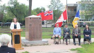 Ground broken on Royal Winnipeg Rifles memorial expansion