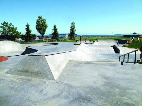 NForce-Fiber was used in the building of the Tulista Park skate park in Sidney, B.C.