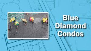 PHOTO: Raking for the Blue Diamond
