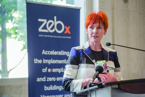 Fiona Famulak, VRCA president, hopes ZEBx will stimulate interest in ICI construction when it comes to zero emissions building.