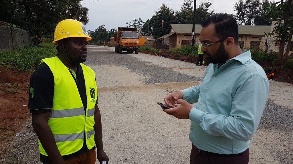 NAIT partners with Ugandan school to teach roadbuilding