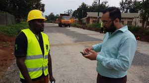 NAIT partners with Ugandan school to teach roadbuilding
