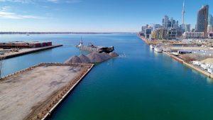 Toronto's Villiers Island begins to take shape