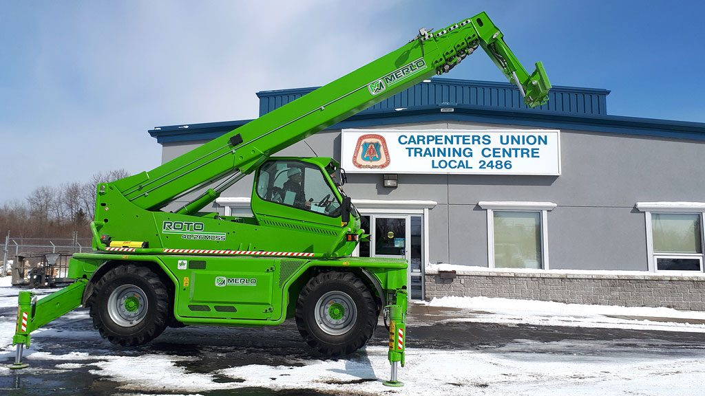 Sudbury Carpenters' receive grant for new equipment