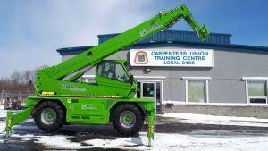 Sudbury Carpenters' receive grant for new equipment