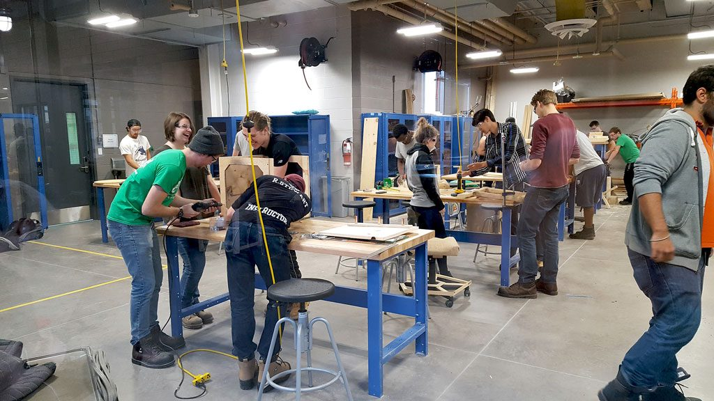 P.E.I. engineering faculty creates buzz with hands-on approach