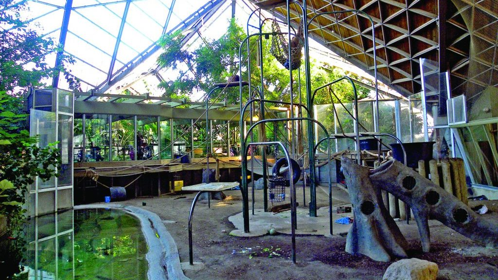 Toronto Zoo pavilions, braced by steel, stand the test of time