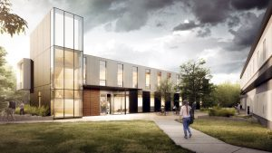 U of T steel prefab building anything but 'plain Jane'