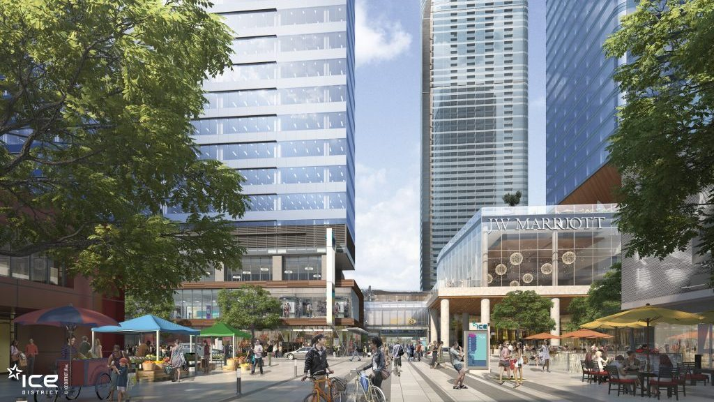 Things are heating up at Edmonton's ICE District
