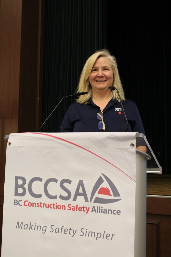 Donna Grant is the marketing manager at Scott Construction and one of the members of the firm's mental health committee. She spoke at the recent Bridging the Gap safety conference in Vancouver about the issue of suicide in the construction industry.