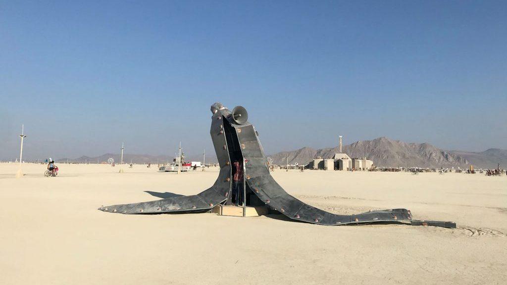 B.C. artist builds peel of steel for Burning Man festival