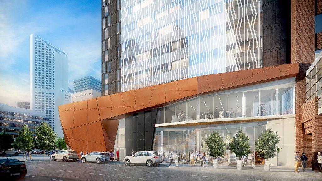 $100-million luxury hotel taking shape in Calgary