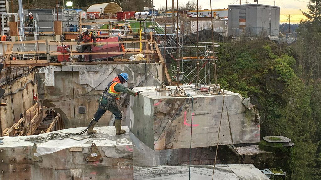 Westcoast's core values on display at Ruskin Dam project