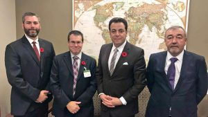 CISC delegation urges government to take action on steel issues